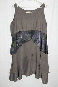 Filterra 2 commerz En Soie Marron Robe Gris Merian Cocon Privés Articles Gr HPdnSwHqt