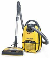 Canister Vacuum, Floor Cleaner Quiet Hepa Filter Electric Dust Control on sale