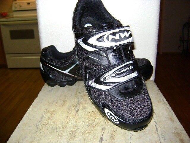 Northwave recreativos Zapatos, clips de Shimano Negro blancoo
