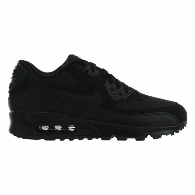 Size 13 - Nike Air Max 90 Essential Triple Black - 537384-090 for ...