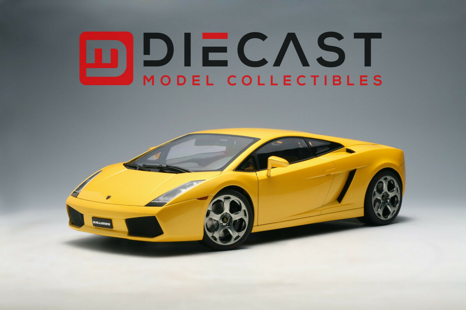 AUTOART 12091 Lamborghini Gallardo (Métallisé Jaune) 1 12TH échelle