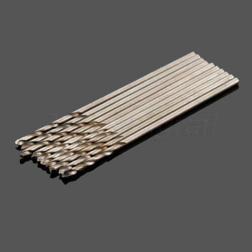 10x Micro HSS Twist Drill Bit 0.5-3.5mm for PCB Plastique Aluminium Fer Planche A8D