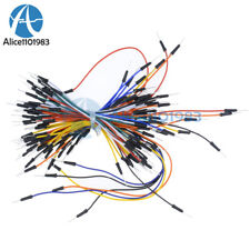 12510pcs 65pcs Male To Male Flexible Solderless Breadboard Jumper Wires Cable