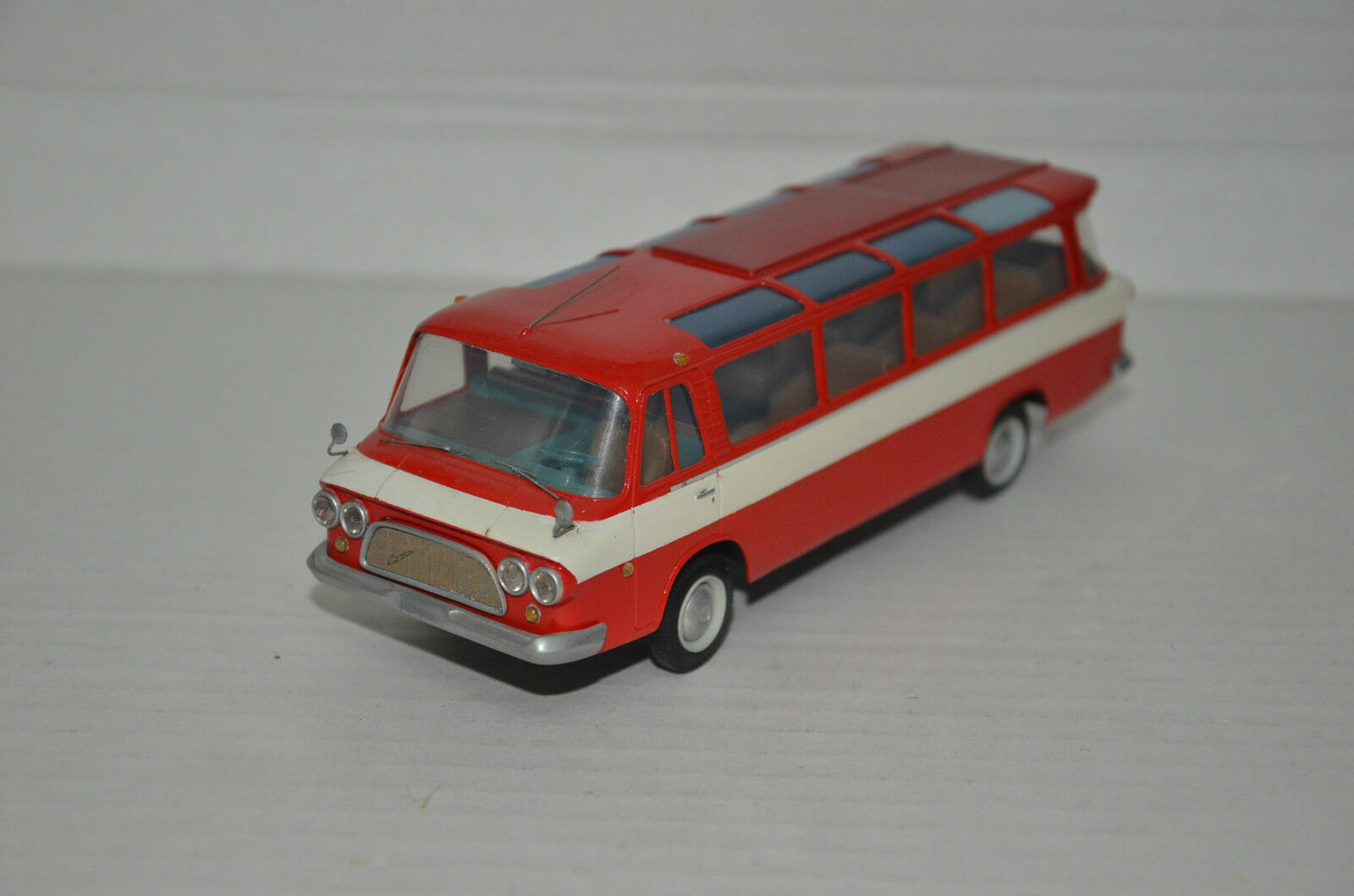 Rare    Zil 118 Yunost Bus Hand Made 1 43