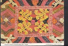 Artisan Postcard - Embroiderer's Guild - Woman's Bonnet, Czechoslovakia  B1252