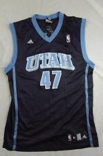 Adidas Utah Jazz Andrei Kirilenko Jersey W/ Signatures Sz M Basketball NBA