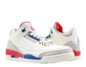 best service 21fa8 9c2ef Image is loading Nike-Air-Jordan-3-Retro-International-Sail-Men-