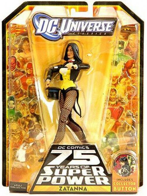 75 jahre super - power - klassiker ultra humanite serie zatanna action - figur