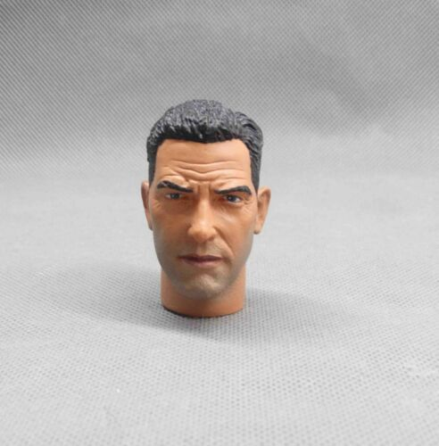 """1//6 Scale Head Sculpt Male head Fits 12/"""" 1:6 Action Figure Toy Soldiers Body N02"""