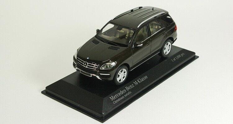Scale model 1 43 Mercedes M-Class 2011 brown-metallic