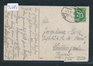 100% De Qualité 30780) Bahnpost Ovalstempel Constance-offenburg Z.1432, Carte 1927-afficher Le Titre D'origine Doux Et Doux