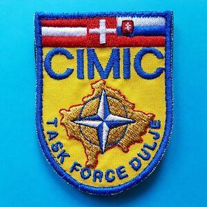 Austria Germany Swiss Cimic Task Force Dulje Nato Kfor Military Army