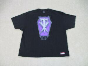 WWE-Undertaker-Shirt-Adult-4XL-XXXXL-Black-Purple-WWF-Wrestling-Wrestler-Mens
