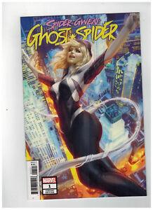 SPIDER-GWEN-GHOST-SPIDER-1-1st-Printing-Artgerm-Variant-Cover-2018-Marvel