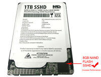 1tb 16mb Cache + 8nand (7mm) 2.5 Sshd Hybrid Gaming Hard Drive For Ps4/ps3