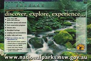 VINTAGE-NSW-NATIONAL-PARKS-ADVERTISING-POSTCARD-NSW-PC