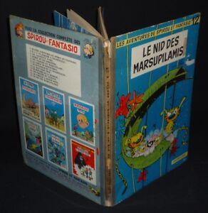 Spirou-et-Fantasio-T12-Le-Nid-des-Marsupilamis-EO