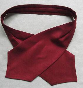 éNergique Boys Cravat Wedding Ascot Necktie Formal Party One Size Dark Red Wine
