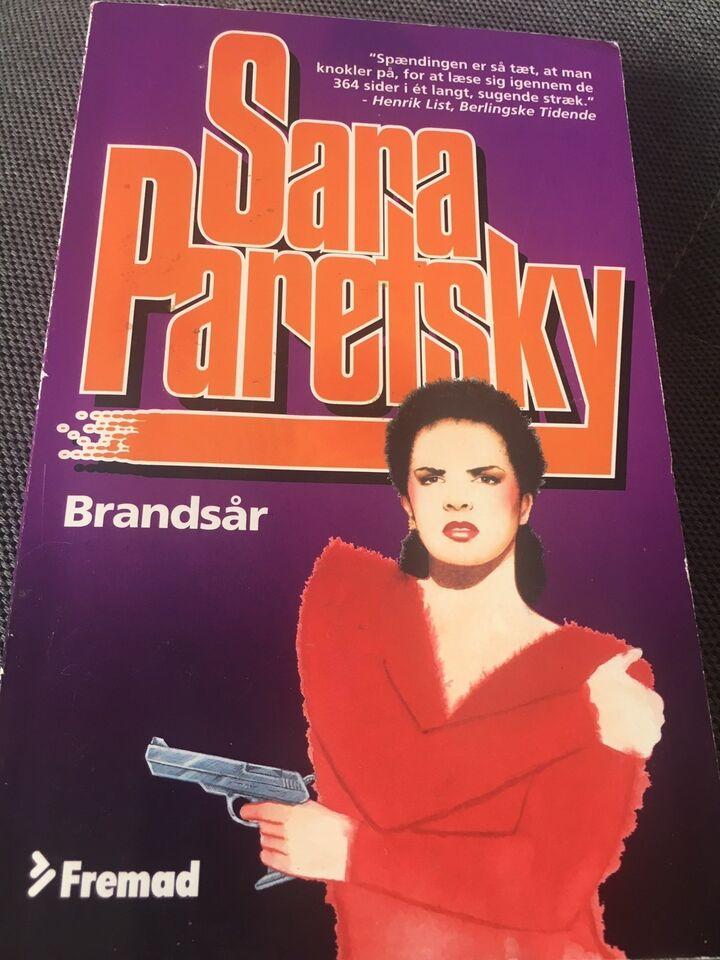 Brandsår, Sara Parentsky, genre: krimi og spænding