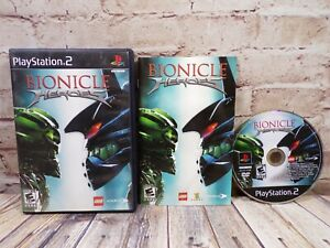 Bionicle Heroes PS2 PlayStation Complete w/ Case & Manual