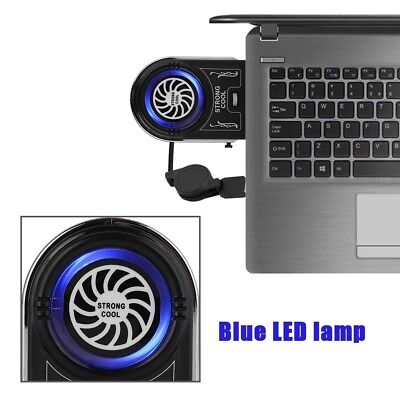 Cooler Laptop Vacuum Usb Air Fan Cooling Extracting Notebook Mini Pad Pc New Led