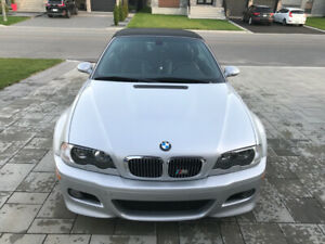 2001 BMW M3 E46 CONVERTIBLE SHOWROOM CONDITION ONLY 84000KM