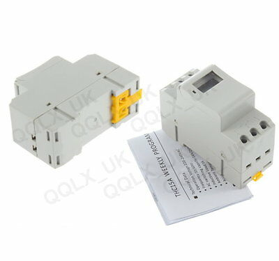 THC 15A Digital LCD Weekly Programmable Timer AC 220V Time Relay Switch 04 - UK
