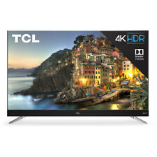 """TCL C-Series 55"""" Smart TV with 4K HD Resolution, 3 HDMI, 1 USB & Built-in WiFi"""