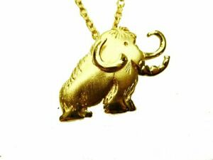 Elefant Anhänger Gold 333 Mamut Glücksanhänger Goldschmuck Schmuck