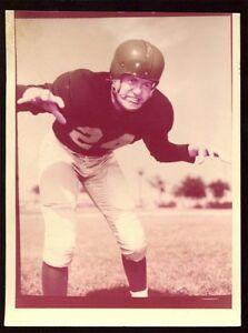 1958-Topps-Football-Original-Flexichrome-70-Jack-Christensen-Lions-T0202