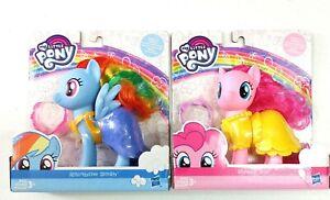 Rainbow Dash & Pinkie Pie My Little Pony Dress Up Snap On Fashion MLP New E1