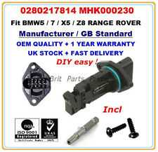 BMW 5(E39) 540i 7(E38) 740i,iL  Mass Air Flow meter Sensor 0280217814 MHK000230