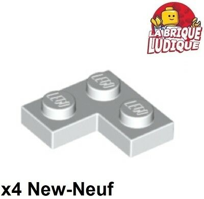 10X Lego® 2420 Winkel Platte Ecke Plate Corner 1X2X2 Schwarz Black