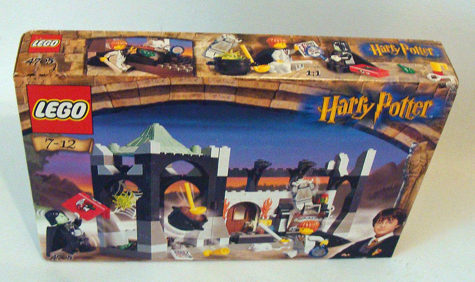 Lego® Harry Potter 4705 Unterricht bei Professor Snape 163 Teile 7-12 Jahren Neu