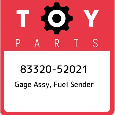 FUEL SENDER 83320-80357 8332080357 Genuine Toyota GAGE ASSY