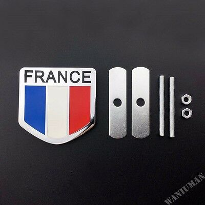 Epoxy German Flag Logo Car Front Grill Grille Emblem Badge Decal Sticker New