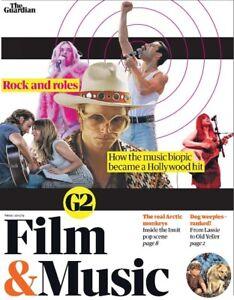 UK Guardian G2 May 2019: BEANIE FELDSTEIN Bohemian Rhapsody WILD BEASTS Mr Oizo