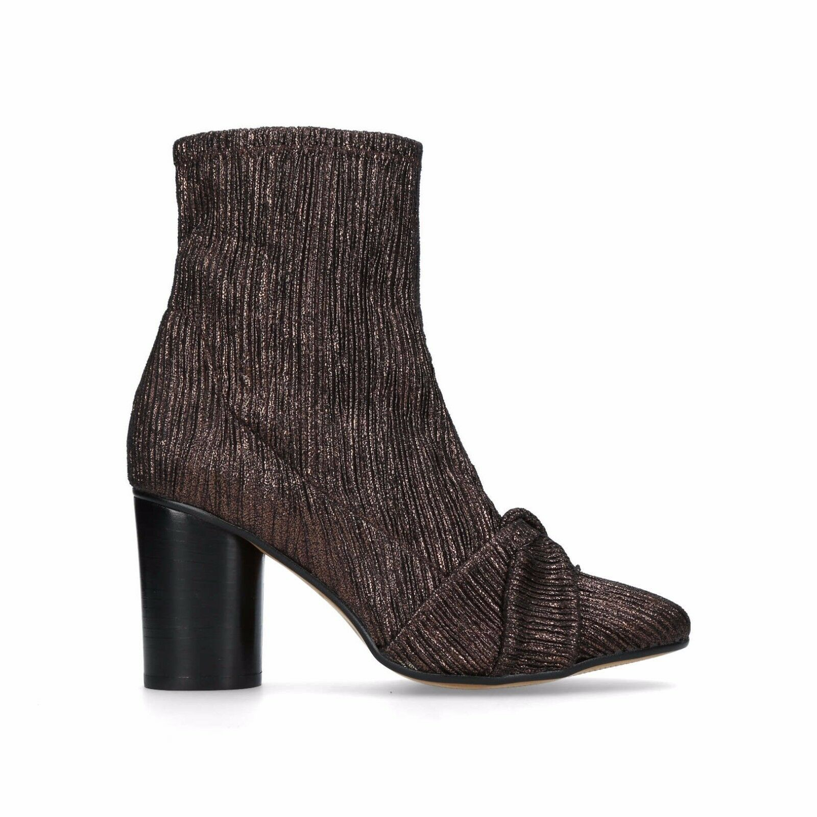 H By Hudson Camille Bronze Calf Heeled Ankle Dress Stiefel 3 to 7