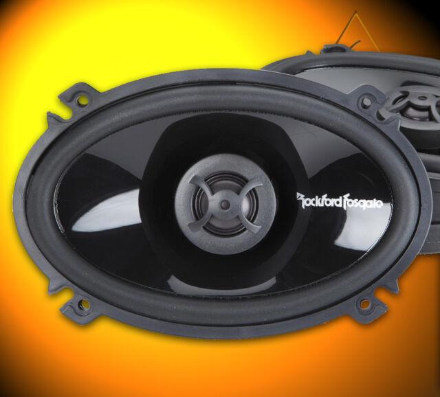 """Rockford Fosgate PUNCH p1 p1462 10x15cm (4x6"""") ovale Coaxial Haut-parleurs Paire"""