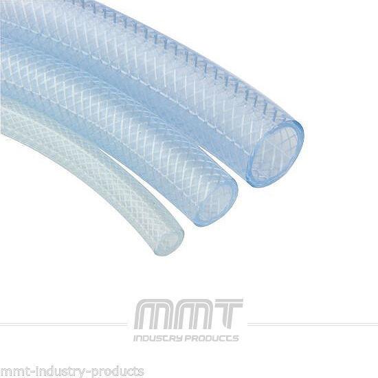 1m Universal PVC Schlauch transparent Druckluft bis 10 bar Luftschlauch Wasserschlauch Garten Aquarium NEU Old-Harvest 5 x 9mm