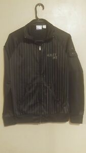 populaire winkels online winkel laagste prijs Details about Vintage Early 2000's Hurley Int. Clothing Company Striped  Black Track Jacket