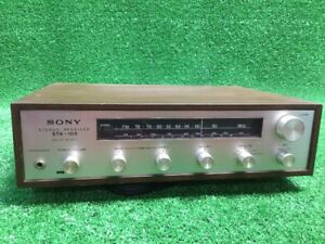 Rare-Vtg-SONY-STR-100-Stereo-FM-AM-receiver-Solid-State-PLEASE-READ-Desc-4-Parts