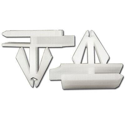 10pcs Nylon Rocker Belt Panel Moulding Clip Retainer Fastener for Grand Prix
