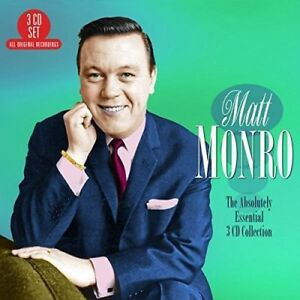 Matt-Monro-Absolutely-Essential-3CD-Collection-New-CD-UK-Import