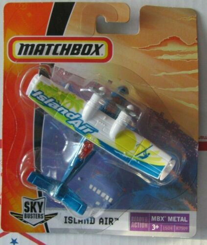 Matchbox SkyBusters  K7509  ISLAND AIR  blue//white seaplane   NIB   Catalina