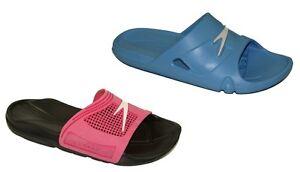 Speedo-Badelatschen-Badeschuhe-Wasserschuhe-Pantoletten-Damen-Schuhe-NEU