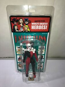 AMANDA CONNER DC COMICS Harley Quinn 8-in Retro Mego Kresge Card SIGNED