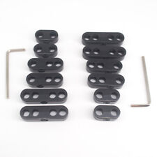 2sets 7mm 8mm Black Spark Plug Wire Separators Dividers Looms Chevy Ford 9723b