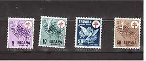 EDIFIL-1084-1087-ANO-1950-PRO-TUBERCULOSOS-NUEVOS-SPAGNE