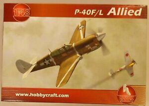 HobbyCraft-1-48-P-40F-L-Warhawk-US-AF-Allied-WWII-Fighter-Model-Kit-1417